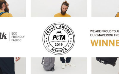 Lefrik wins PETA award for »Best Vegan Luggage«