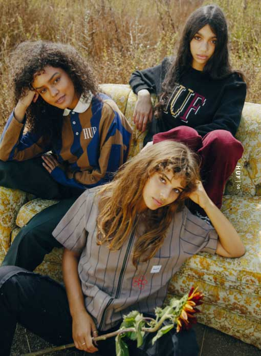 HUF Fall 21 Women Future Shock Modells