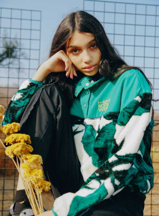 HUF Fall 21 Women Future Shock Jacket