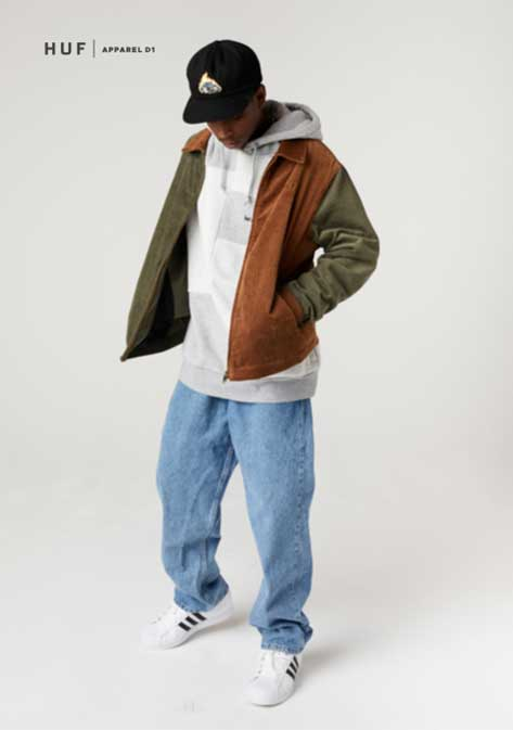 HUF Fall 21 Collection Future Shock Mens 3