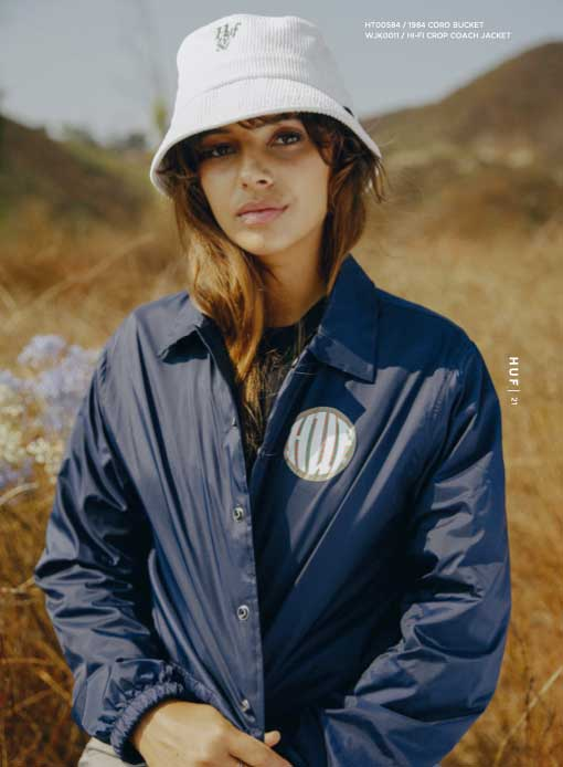 HUF Fall 21 Women Future Shock Jacket 2