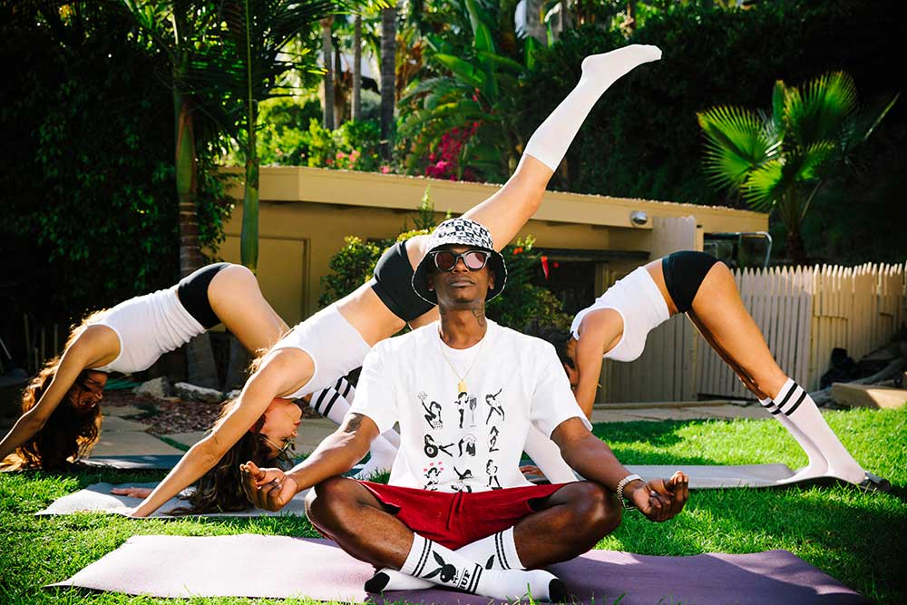 HUF Fall 21 Collection Future Shock Mens Yoga